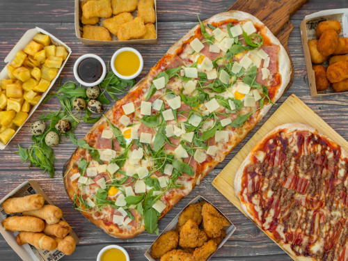 Menu De Pizza Metro Company Sbd En Sabadell Pide Comida A