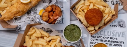 Fish And Chips Restaurants And Takeaways In Weymouth Dt4