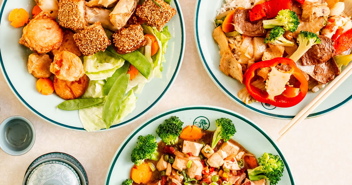 Great Wall Vegetarian Chinese Food Takeaway in Norwich ...