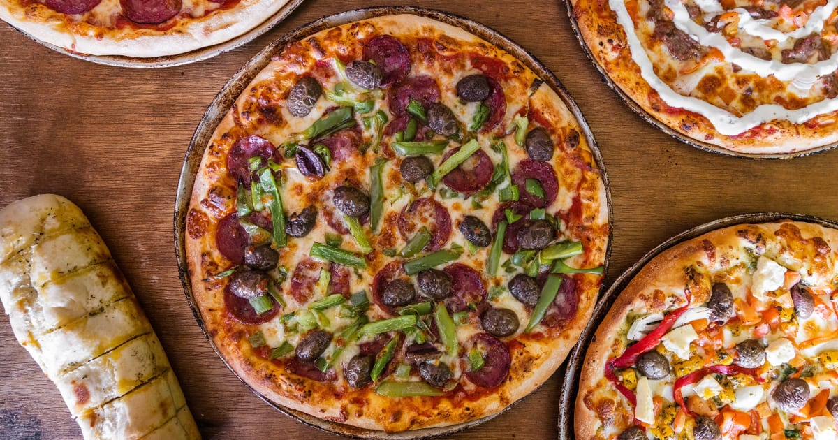 Indiano Pizza Restaurant Menu In London Order From Just Eat